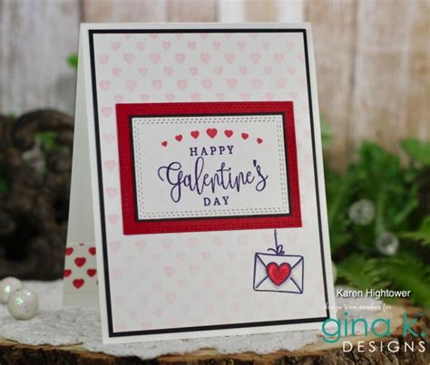 gina  designs  illustrator card kit blog hop