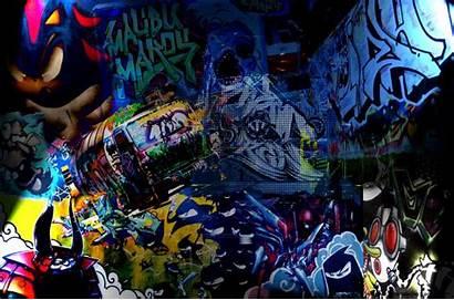 Graffiti Abstrak Abstract Widescreen