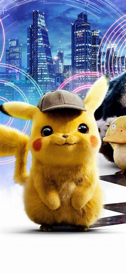 Pikachu Detective Wallpapers 4k Android Pokemon Mobile
