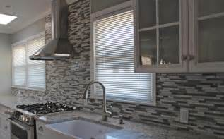 Gray Backsplash Kitchen Kitchen Dining Enhance Kitchen Decor With Mosaic Backsplash Stylishoms Kitchen Ideas