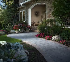 Stone Paver Walkway Designs
