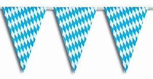 Oktoberfest Blau Weiß Muster Brezel : wimpelkette 30 wimpel 10 m l nge wei blaue bayern rauten oktoberfest deko wimpel fahnen ~ Watch28wear.com Haus und Dekorationen