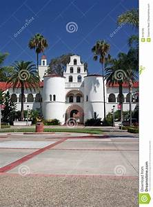San Diego State University Bell Tower Stock Image - Image ...