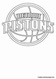 Basketball Teams Coloring Pages Getcoloringpagescom