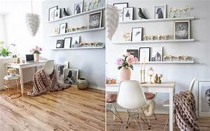 DIY Ikea Bilderleiste Mosslanda Lackieren Kolorat