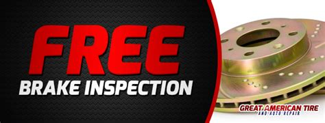 brake and l inspection great american tire and auto repair lindenhurst il