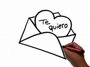 Dibujos A Lapiz Faciles De Amor | www.imgkid.com - The ...
