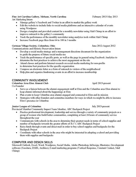 how to market yourself resumes