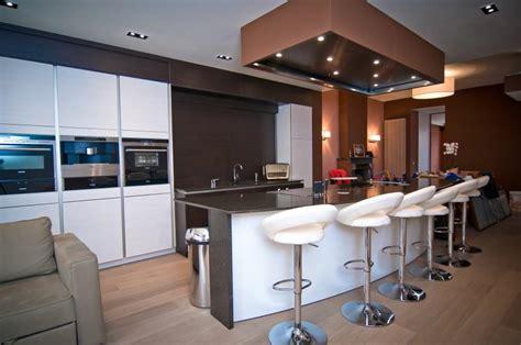 cuisine moderne avec ilot central plan de cuisine avec ilot cuisine avec ilot ermont photo