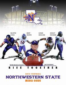 2013 Northwestern State Football Information Guide by ...