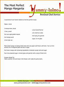 recipe templates for word bamboodownundercom With template for recipes in word