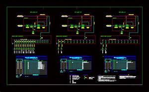 Diagrama Unifilar Electrico En Baja Tension  98 97 Kb