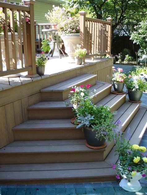 ideas  front porch stairs  pinterest