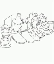 Best Shoe Coloring Page - ideas and images on Bing   Find what you ...
