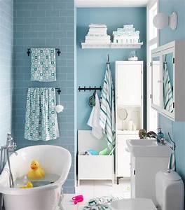 3 idees deco pour la salle de bains des enfants With salle de bains enfants