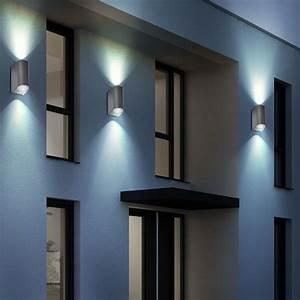 Led Beleuchtung Haus : led 10 watt au en wand beleuchtung hof leuchte haus t r lampe up down strahler ebay ~ Markanthonyermac.com Haus und Dekorationen
