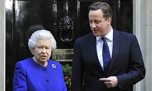 David Cameron 'embarrassed and sorry' for saying Queen ...
