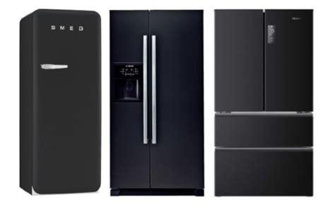 amenager sa cuisine un frigo américain noir dans ma cuisine