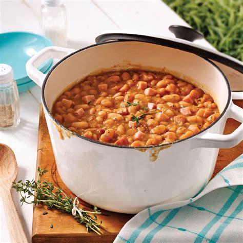 de cuisine qui cuit fèves au lard qui ont cuit toute la nuit recettes