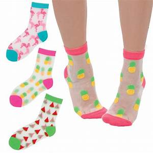 See Through Socks - Accessories - Style Lab