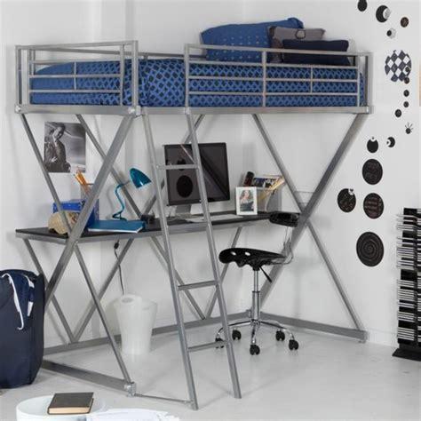 hauteur d un bureau lit en hauteur avec bureau intégré les atouts