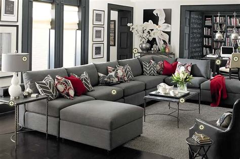 red and grey sofa rooms we love bassett furniture on pinterest discover
