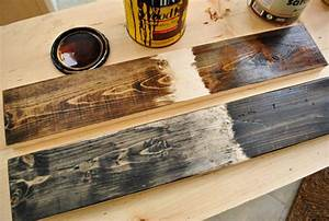 What's the method of a rustic wood stain technique? - by