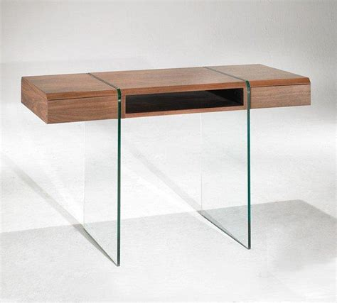 but bureau verre enterprise bureau design bois et verre avec tiroirs