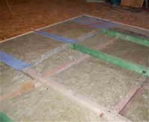 Dachboden Fußboden Verlegen : fussbodenaufbau dachgeschoss trittschalldaemmung holzbalkendecke ~ Markanthonyermac.com Haus und Dekorationen