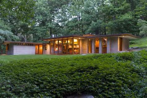 J Wright Home Design : This Usonian Gem In Connecticut Has The Wright Background