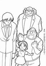 Coloring Conan Detective Pitch Pages Perfect Colorare Pokemon Disegni Da Template sketch template