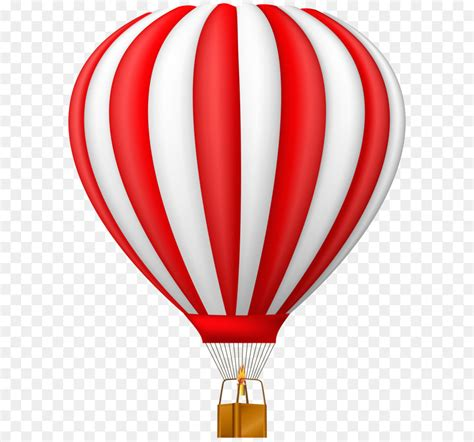 hot air balloon clip art red hot air balloon transparent