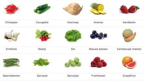 producten met weinig kcal