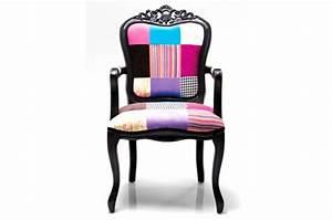 fauteuil baroque colore pas cher With fauteuil original coloré