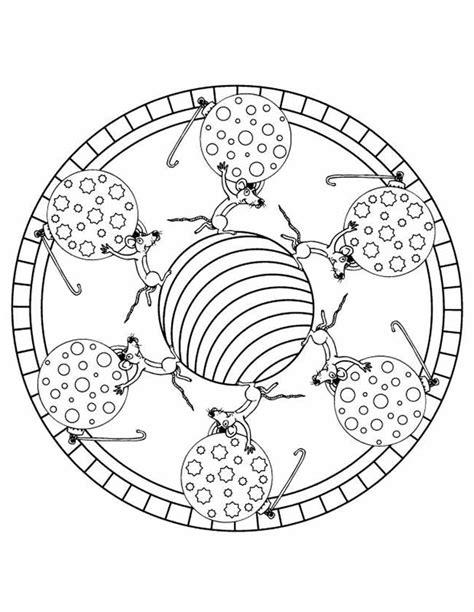 Kleurplaat Mandala Kleuters by Kleuren Nu Mandala Muis Kaas En Salami Kleurplaten