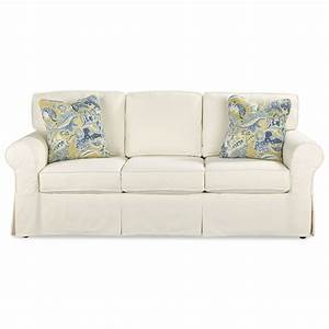 casual slipcover sleeper sofa with queen innerspring With sofa bed innerspring mattress