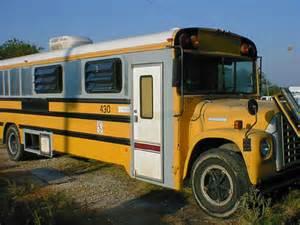 School Bus Camper Conversion