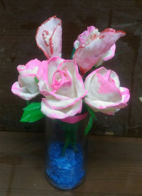 bunga sabunkerajinan tangan  sabun mandi  plastik