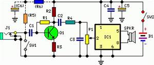 Speach Amplifier Circuit Diagram And Instructions