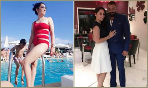Sanjay Dutt Upset With Wife Maanayata Sharing Hot Pictures On Social Media