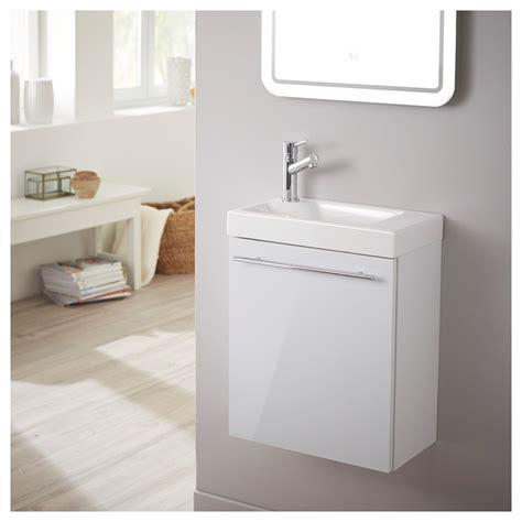 vente meuble lave int 233 gr 233 laqu 233 blanc brillant planetebain