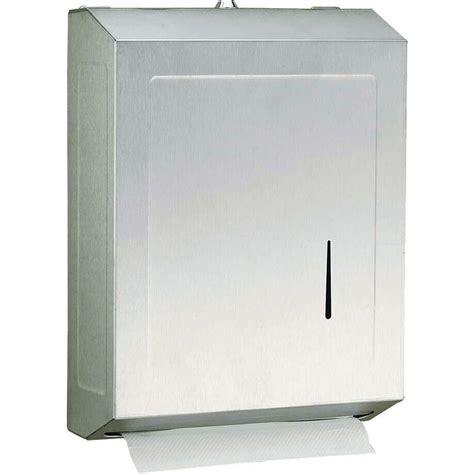 paper towel dispenser shop psisc satin c fold pull paper towel dispenser at