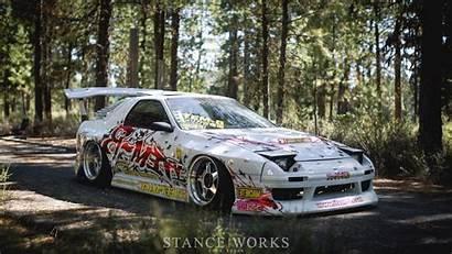 Rx7 Mazda Cars Drift 1987 Fc3s Drifting