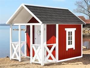 Kinder Holzhaus Garten : kinderspielhaus holz schwedenhaus ~ Frokenaadalensverden.com Haus und Dekorationen