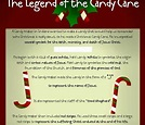 Poem Of A Candy Cane : Candy Cane Coloring Page - Children ...