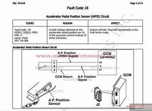 Cummins B5 9g C8 3g L10g Electronic Control System