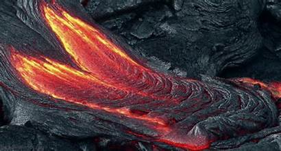 Lava Loop Gifs Flow Volcano Flowing Giphy
