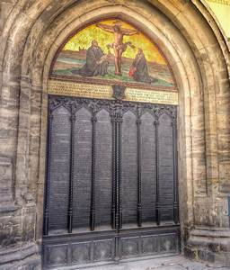 Martin Luther's 95 theses   Sophie's World Travel Inspiration
