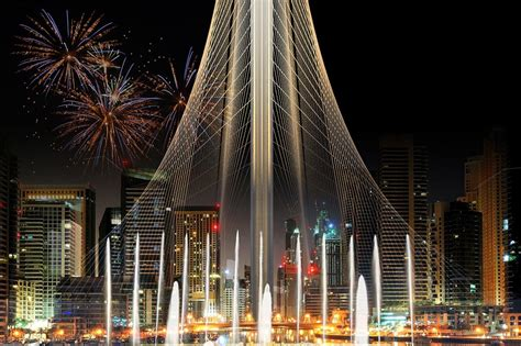 dubai creek harbor tower  santiago calatrava  architect