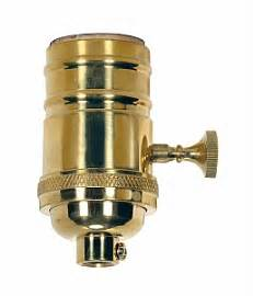 Satco Piece Stamped Solid Brass Way